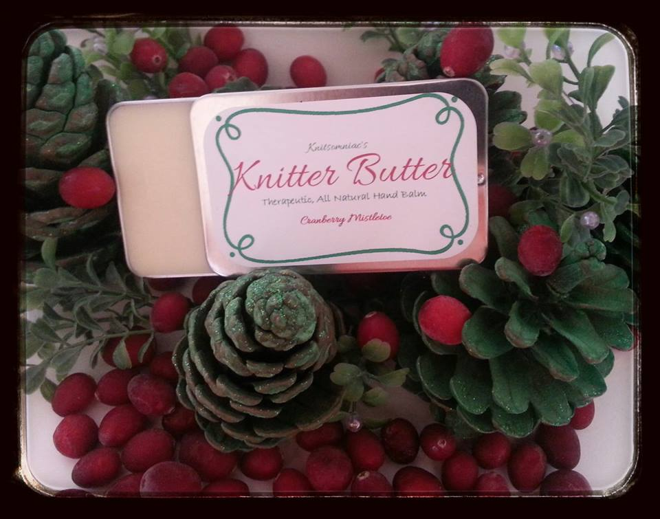 Cranberry Mistletoe Knitter Butter