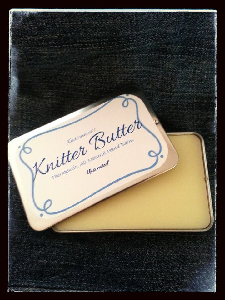 Unscented Knitter Butter: Therapeutic, All Natural Hand Balm
