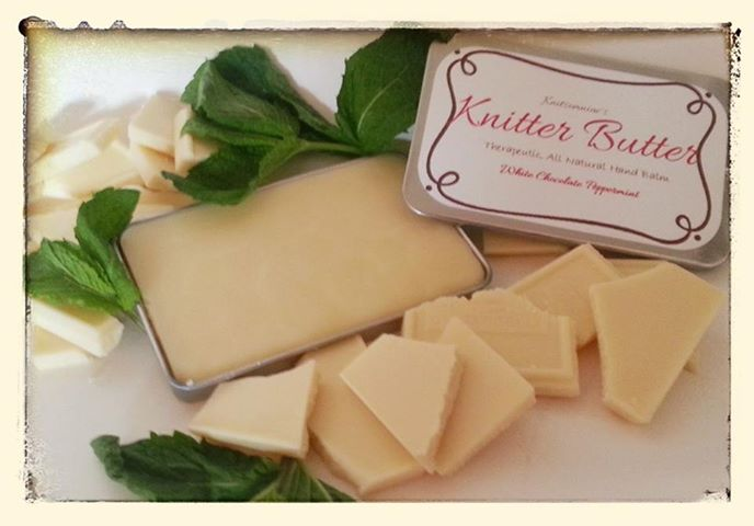White Chocolate Peppermint Knitter Butter